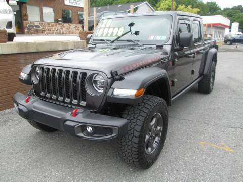 2020 Jeep Gladiator for sale at WORKMAN AUTO INC in Pleasant Gap PA