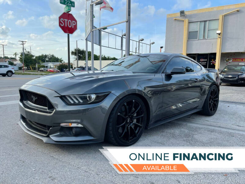 2015 Ford Mustang for sale at Global Auto Sales USA in Miami FL