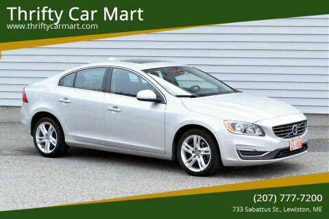 2015 Volvo S60 for sale at Thrifty Car Mart in Lewiston ME