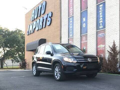 2017 Volkswagen Tiguan for sale at Auto Imports in Houston TX