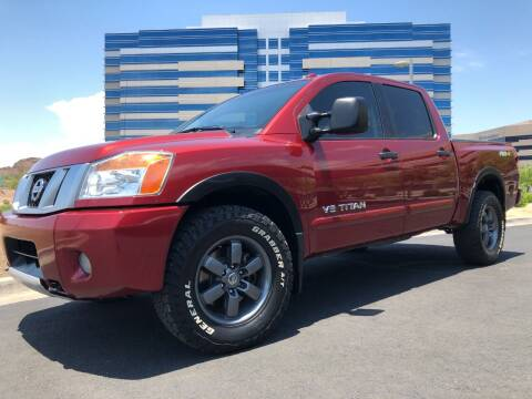 2013 Nissan Titan for sale at Day & Night Truck Sales in Tempe AZ
