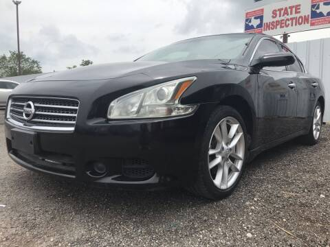 2011 Nissan Maxima for sale at Texas Country Auto Sales LLC in Austin TX