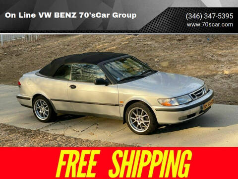 1999 Saab 9-3 for sale at On Line VW BENZ 70'sCar Group in Warehouse CA