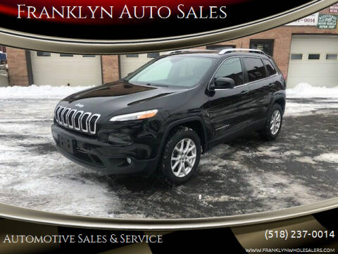 2017 Jeep Cherokee for sale at Franklyn Auto Sales in Cohoes NY