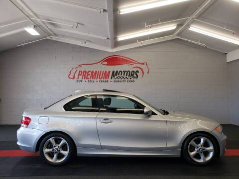 2010 BMW 1 Series for sale at Premium Motors in Villa Park IL