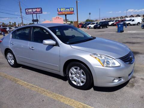 2010 Nissan Altima for sale at Car Spot in Las Vegas NV