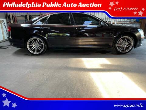 2009 Audi A8 for sale at Philadelphia Public Auto Auction in Philadelphia PA