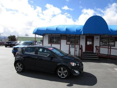 2013 Chevrolet Sonic for sale at Jim's Cars by Priced-Rite Auto Sales in Missoula MT