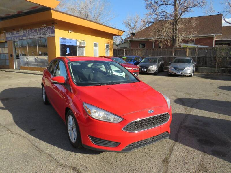 2016 Ford Focus for sale at Nile Auto Sales in Denver CO