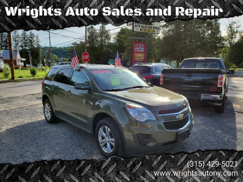 2015 Chevrolet Equinox for sale at Wrights Auto Sales and Repair in Dolgeville NY
