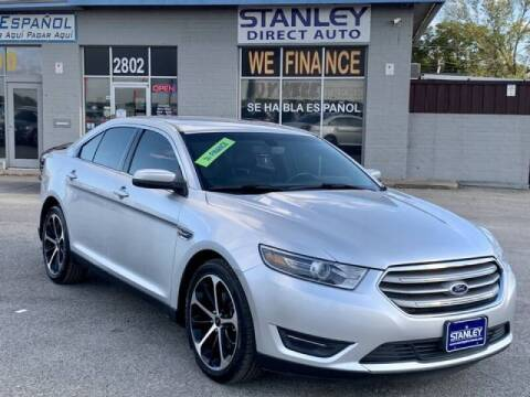2014 Ford Taurus for sale at Stanley Automotive Finance Enterprise - STANLEY DIRECT AUTO in Mesquite TX