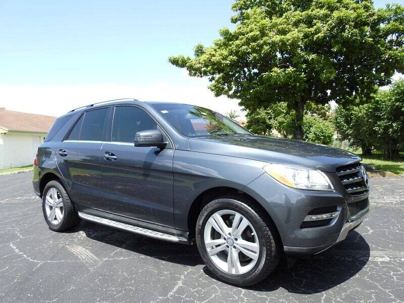 2013 Mercedes-Benz M-Class for sale at SUPER DEAL MOTORS 441 in Hollywood FL