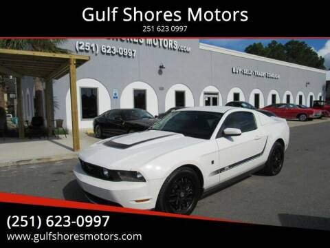 2010 Ford Mustang for sale at Gulf Shores Motors in Gulf Shores AL