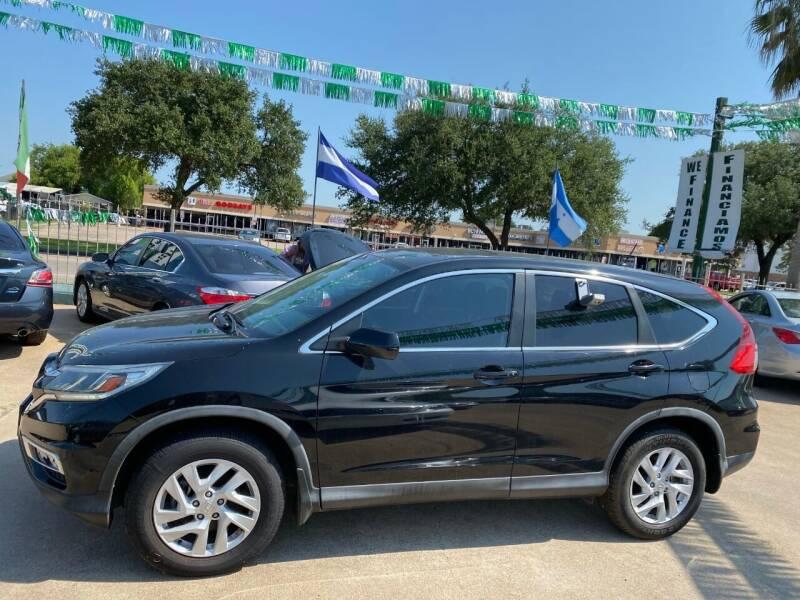 2016 Honda CR-V for sale at SOUTHWAY MOTORS in Houston TX