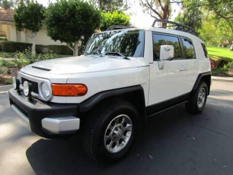 2012 Toyota FJ Cruiser for sale at E MOTORCARS in Fullerton CA