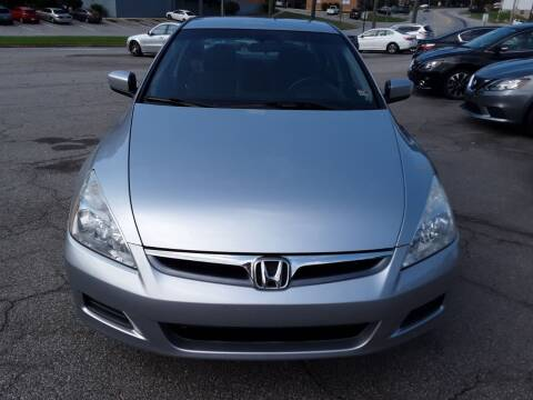 2006 Honda Accord for sale at Auto Villa in Danville VA