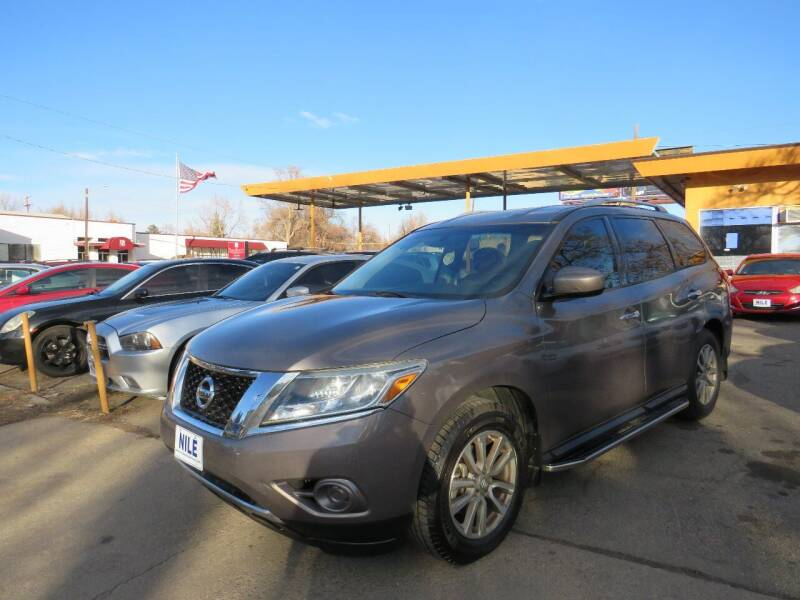 2014 Nissan Pathfinder for sale at Nile Auto Sales in Denver CO