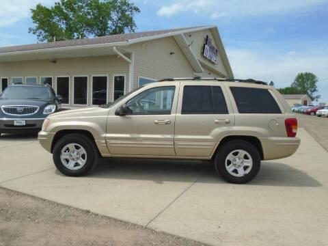 2001 Jeep Grand Cherokee for sale at Milaca Motors in Milaca MN