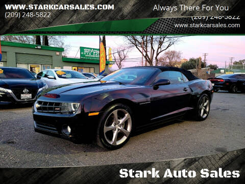 2013 Chevrolet Camaro for sale at Stark Auto Sales in Modesto CA