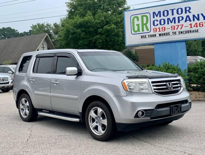 2015 Honda Pilot for sale at GR Motor Company in Garner NC