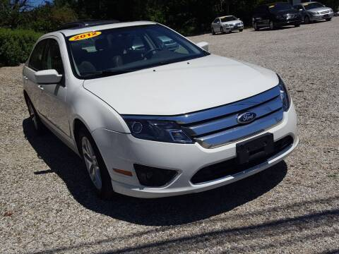 2012 Ford Fusion for sale at Jack Cooney's Auto Sales in Erie PA