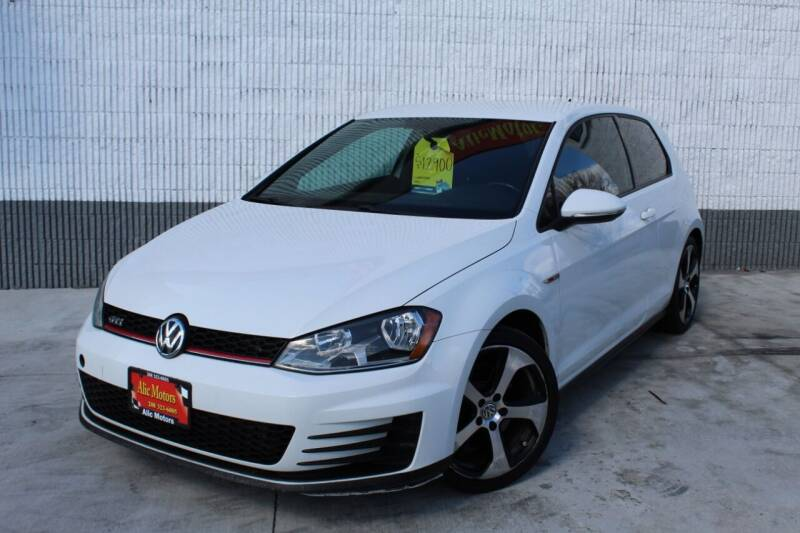 2015 Volkswagen Golf GTI for sale at ALIC MOTORS in Boise ID