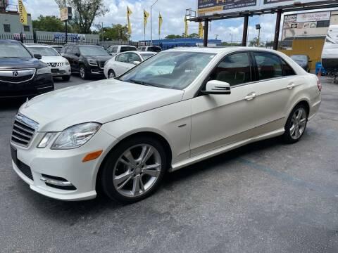 2012 Mercedes-Benz E-Class for sale at AUTO ALLIANCE LLC in Miami FL