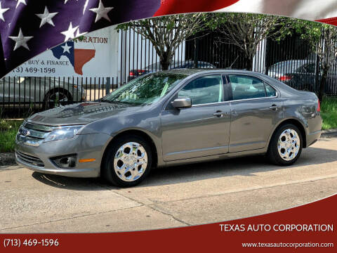 2011 Ford Fusion for sale at Texas Auto Corporation in Houston TX