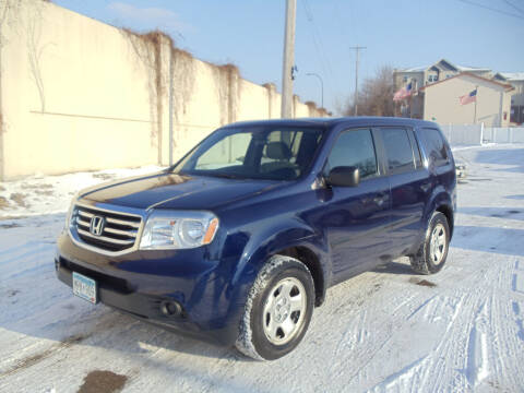 2013 Honda Pilot for sale at Metro Motor Sales in Minneapolis MN