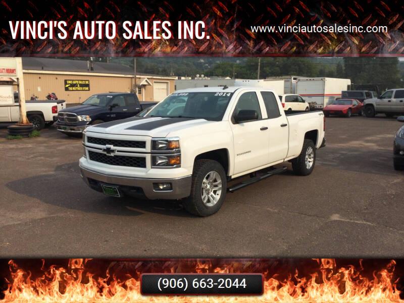 2014 Chevrolet Silverado 1500 for sale at Vinci's Auto Sales Inc. in Bessemer MI