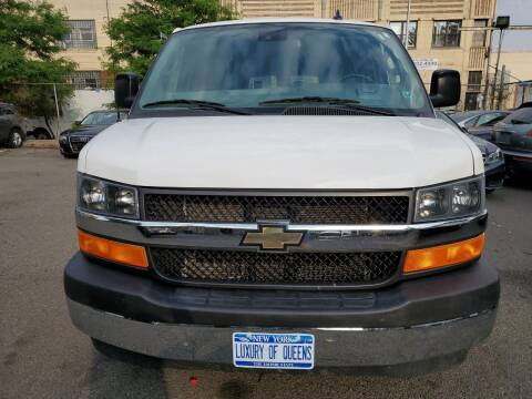 2019 Chevrolet Express Passenger for sale at LUXURY OF QUEENS,INC in Long Island City NY