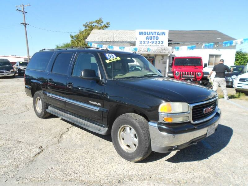 2003 GMC Yukon XL for sale at Mountain Auto in Jackson CA