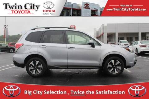 2017 Subaru Forester for sale at Twin City Toyota in Herculaneum MO