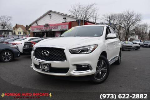 2018 Infiniti QX60 for sale at www.onlycarsnj.net in Irvington NJ