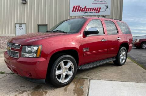 2012 Chevrolet Tahoe for sale at Midway Motors in Conway AR