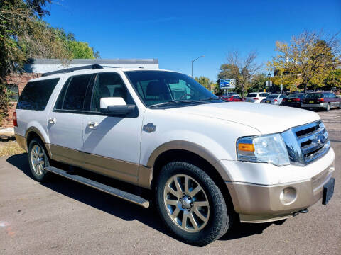 2012 Ford Expedition EL for sale at J & M PRECISION AUTOMOTIVE, INC in Fort Collins CO