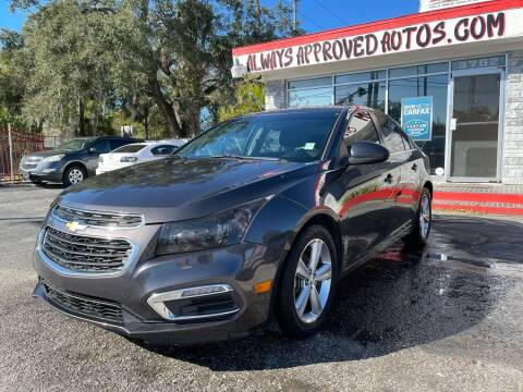 2016 Chevrolet Cruze Limited for sale at Always Approved Autos in Tampa FL