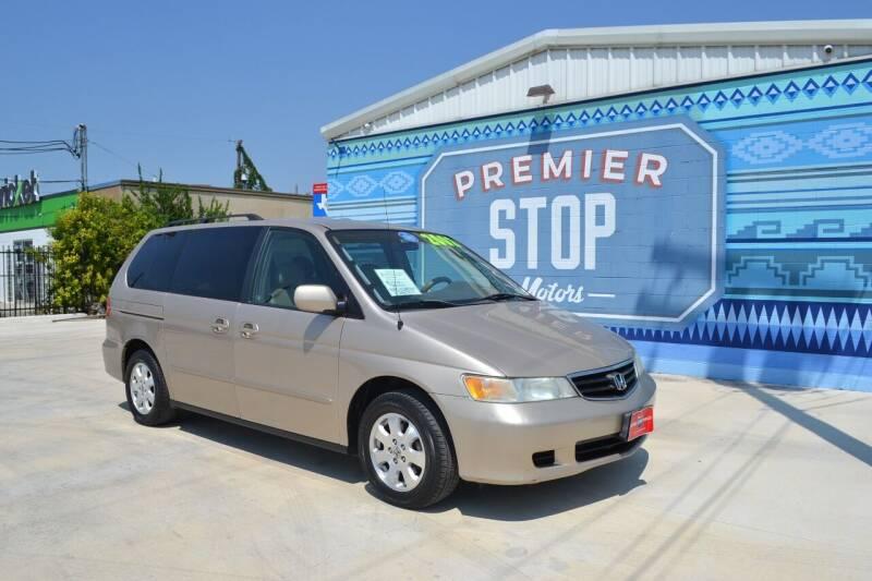 2002 Honda Odyssey for sale at PREMIER STOP MOTORS LLC in San Antonio TX