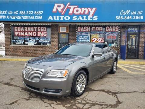 2012 Chrysler 300 for sale at R Tony Auto Sales in Clinton Township MI
