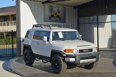 2013 Toyota FJ Cruiser for sale at G MOTORS in Houston TX
