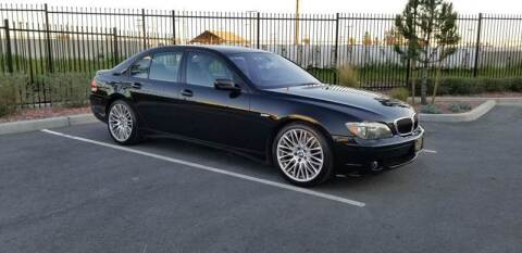 2007 BMW 7 Series for sale at Alltech Auto Sales in Covina CA