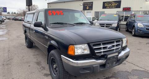 2002 Ford Ranger for sale at BELOW BOOK AUTO SALES in Idaho Falls ID