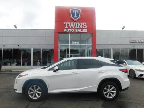2017 Lexus RX 350 for sale at Twins Auto Sales Inc Redford 1 in Redford MI