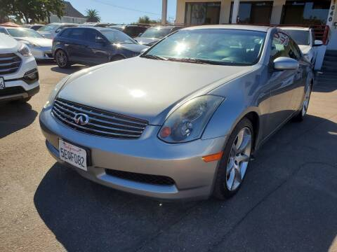 2004 Infiniti G35 for sale at Convoy Motors LLC in National City CA