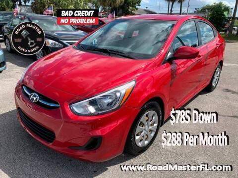 2016 Hyundai Accent for sale at Roadmaster Auto Sales in Pompano Beach FL