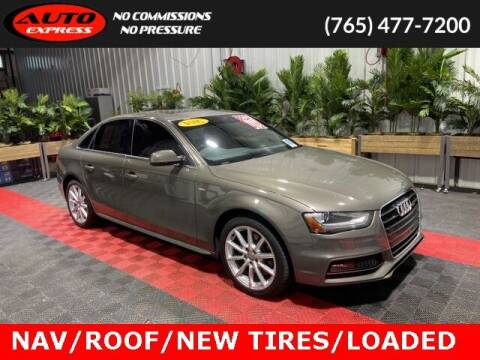 2014 Audi A4 for sale at Auto Express in Lafayette IN