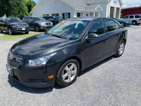 2014 Chevrolet Cruze for sale at Evia Auto Sales Inc. in Glens Falls NY
