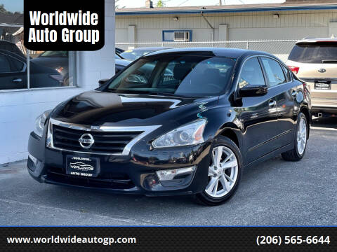 2014 Nissan Altima for sale at Worldwide Auto Group in Auburn WA