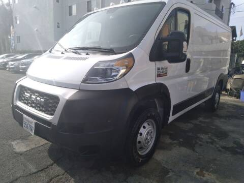 2020 RAM ProMaster Cargo for sale at Western Motors Inc in Los Angeles CA