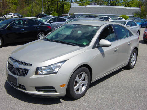 2014 Chevrolet Cruze for sale at North South Motorcars in Seabrook NH